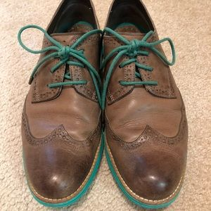 Cole Haan Shoes - Cole Haan original Lunargrand wing-tip oxfords